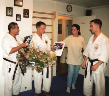 Die Gründung des Nikko Dojo 1996