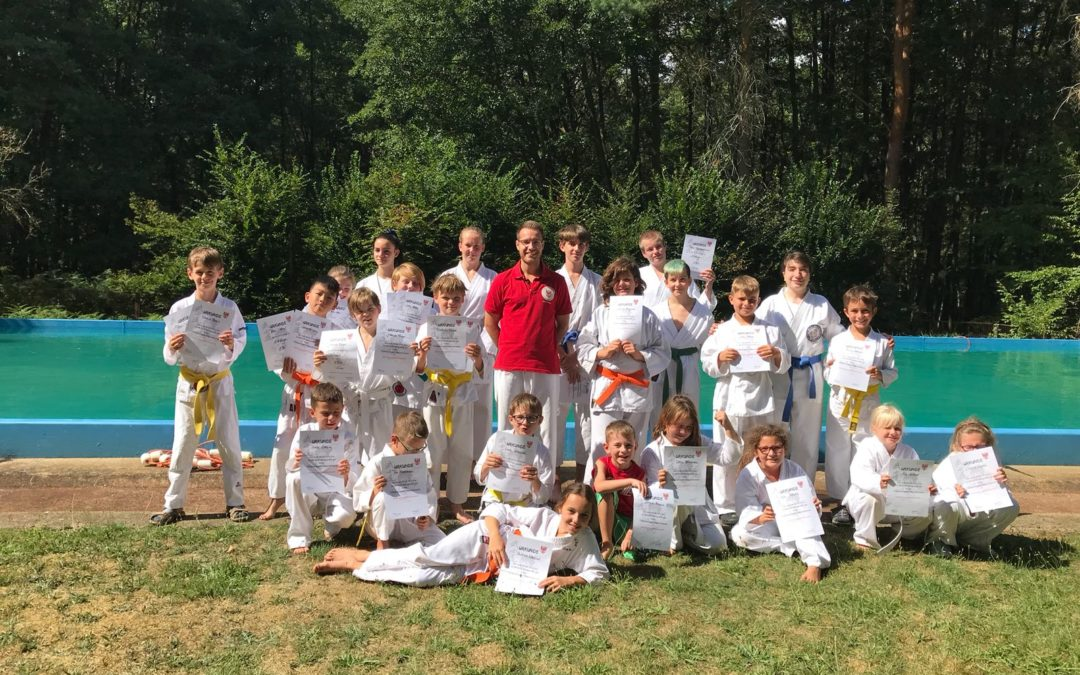 Kindertrainingslager des Karate Dachverband Land Brandenburg e.V.