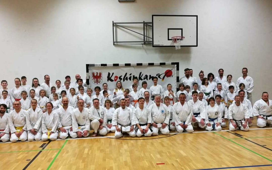 Unser Koshinkan Trainingslager 2019 in Lindow