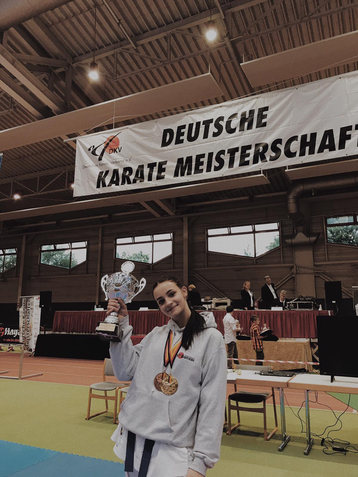 Verdient mit DM-Pokal: Charleene Tsoucalas